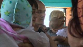 Крещение Ксении из Морозовска