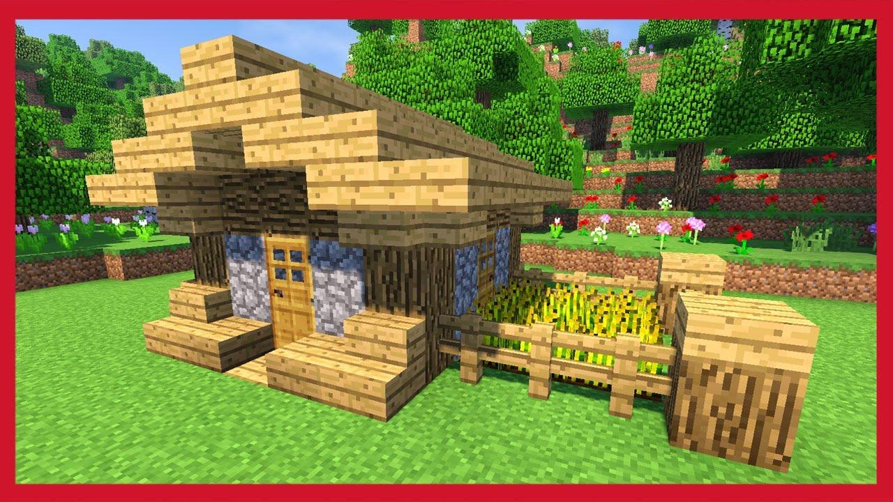 minecraft come costruire una piccola casa compatta youtube