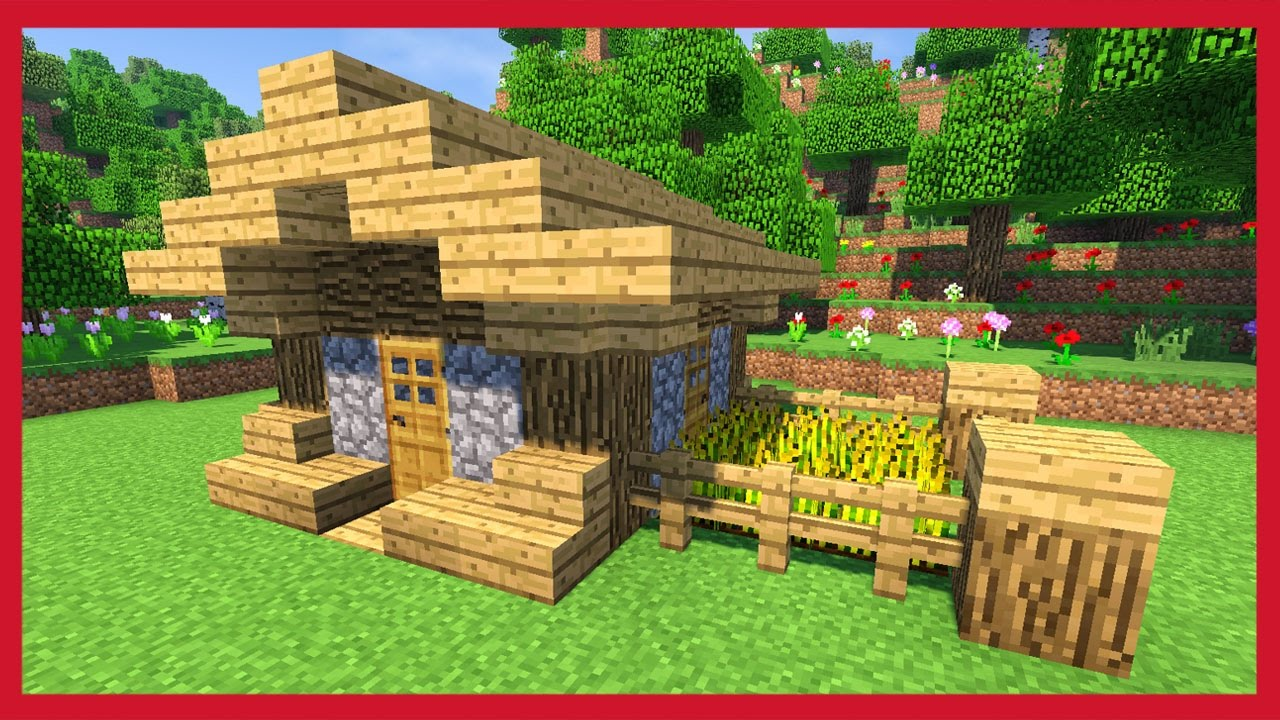 Minecraft come costruire una piccola casa compatta youtube for Voglio costruire una piccola casa