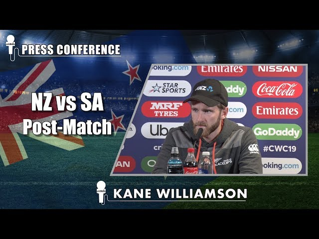 Intent was to build partnerships and take the game deep - Kane Williamson