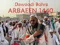 Dawoodi bohra in arbaeen 1440 labbaik ya hussain