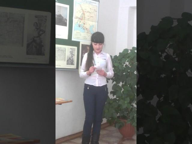 Изображение предпросмотра прочтения – КсенияШвец читает произведение «Тучкины штучки» В.В.Маяковского