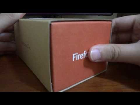 Unboxing: Alcatel One Touch Fire com Firefox OS!