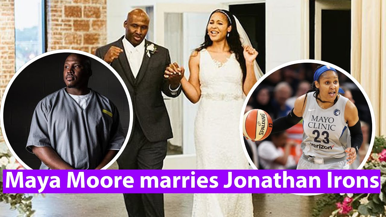Maya Moore married Jonathan Irons, man she helped free from ...
