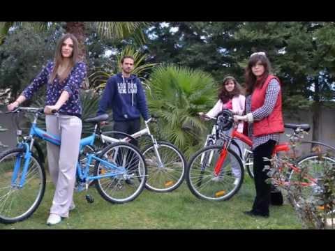 """Σπαστά ποδήλατα Power-Wheels με τροχούς 26"""", 21 ταχύτητες, ανάρτηση και προφυλακτήρες εμπρός-πίσω"""