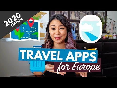 20 TRAVEL APPS YOU MUST DOWNLOAD (FOR EUROPE) 2020 | Free Genius Travel Apps For IPhone & Android!