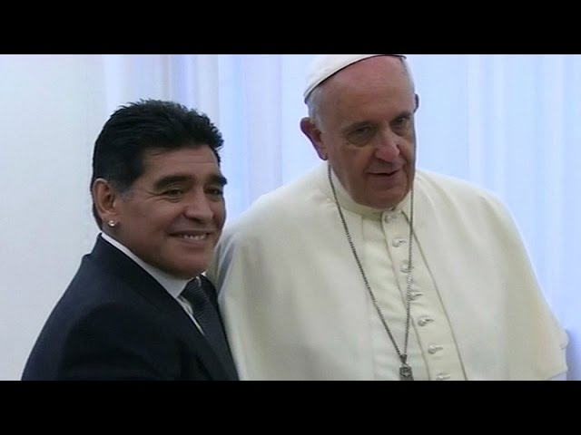 "Francisco recordó a Maradona: ""Fue un poeta en la cancha"""