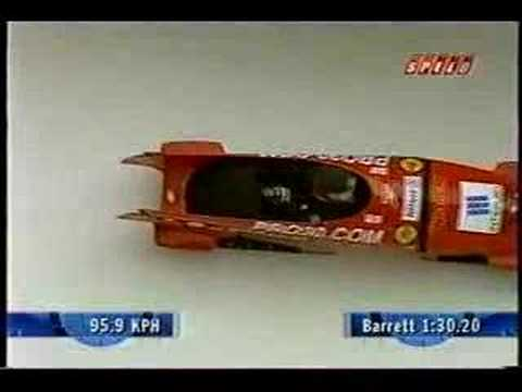 National Bobsled Competition driven by Stanton Barrett