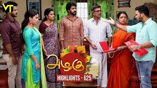 Azhagu - Tamil Serial | Highlights | அழகு | Episode 625 | Daily Recap | Sun TV Serials | Revathy