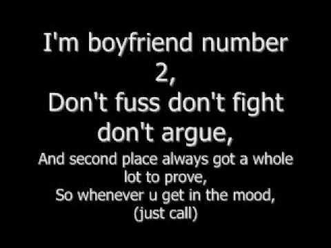 Boyfriend #2  Pleasure P Lyrics