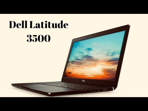 Dell Latitude 3500 Laptop Unboxing