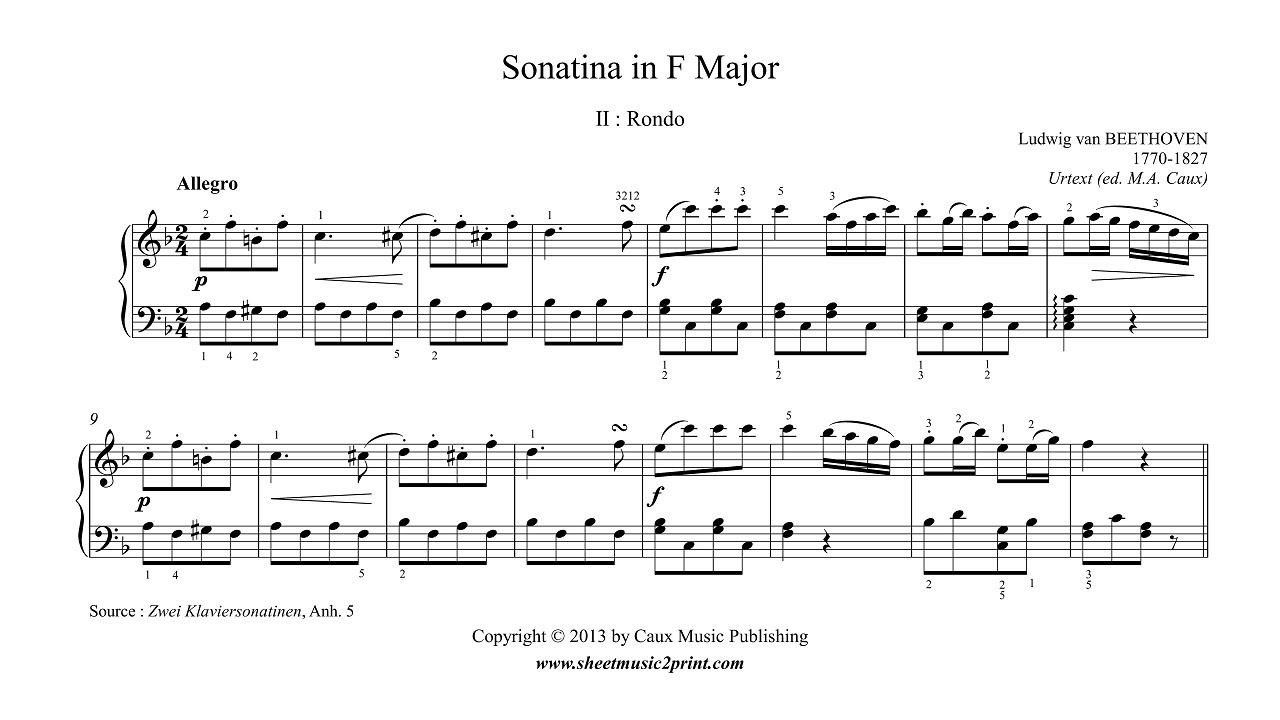 how to play sonatina in g major