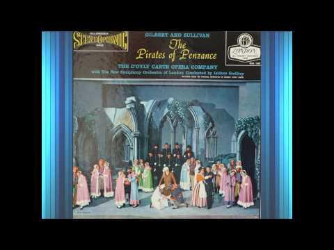 Pirates Of Penzance (Act 1)(1958)(G&S)--Pratt, D'Oyly Carte