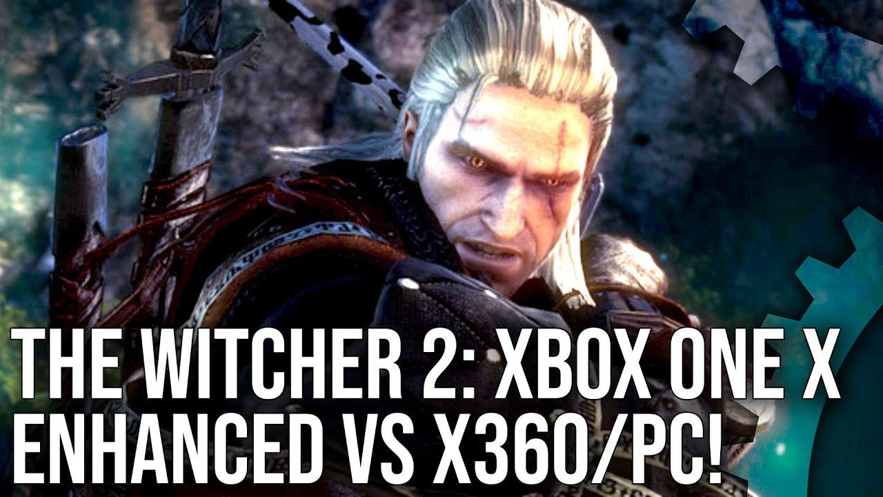 Xbox One X 4k Magic: [4K] The Witcher 2: Xbox One X Enhanced Vs PC Vs Xbox 360