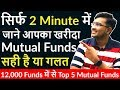 Top Best Mutual Funds 2019 Each Category in 2 Minutes | Best Mutual Funds SIP in India