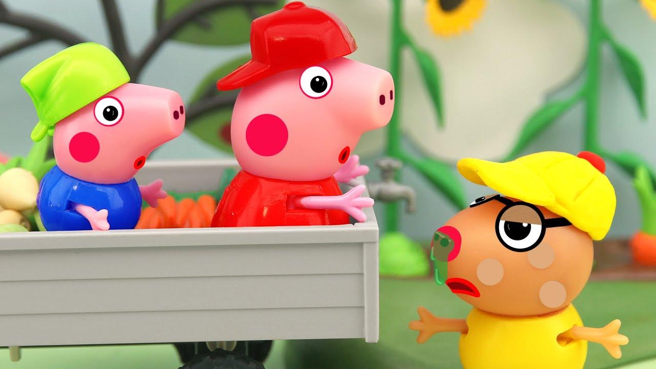 Pedro got sick, Peppa Pig Animation, 4K