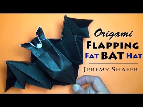 Origami Bat By Jeremy Shafer
