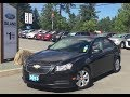 2013 Chevrolet Cruze LT w/ Back up Camera, Power Release trunk+ Accident Free Review |Island Ford