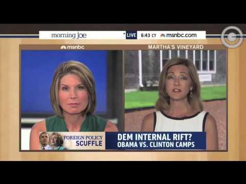 MSNBC's Chris Jansing:  Obama Camp Calls Clinton Criticism 'Unseemly'
