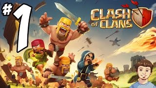 Clash of Clans - PART 1 - Join My Clan + Clan War Starts Today!