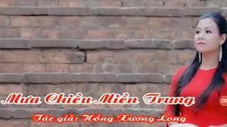 Mưa Chiều Miền Trung karaoke/ tone Nữ / beat lDương Hồng Loan