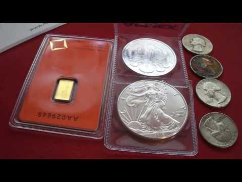 silver unboxing 2017, Gold unboxing 2017, silver purchase 2017, gold stack 2017