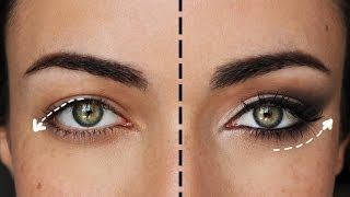 How To Lift Droopy Eyes: The Ultimate Cat Eye  | MakeupAndArtFreak