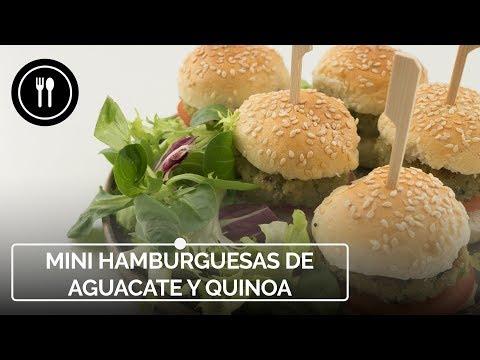 Mini hamburguesas vegetarianas de aguacate y quinoa: una receta fácil, rápida y ligera | Instafood