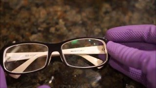 Remove anti-reflective coating using Armour Etch