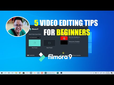 Filmora 9 Tutorial - 5 Video Editing Tips For Beginners