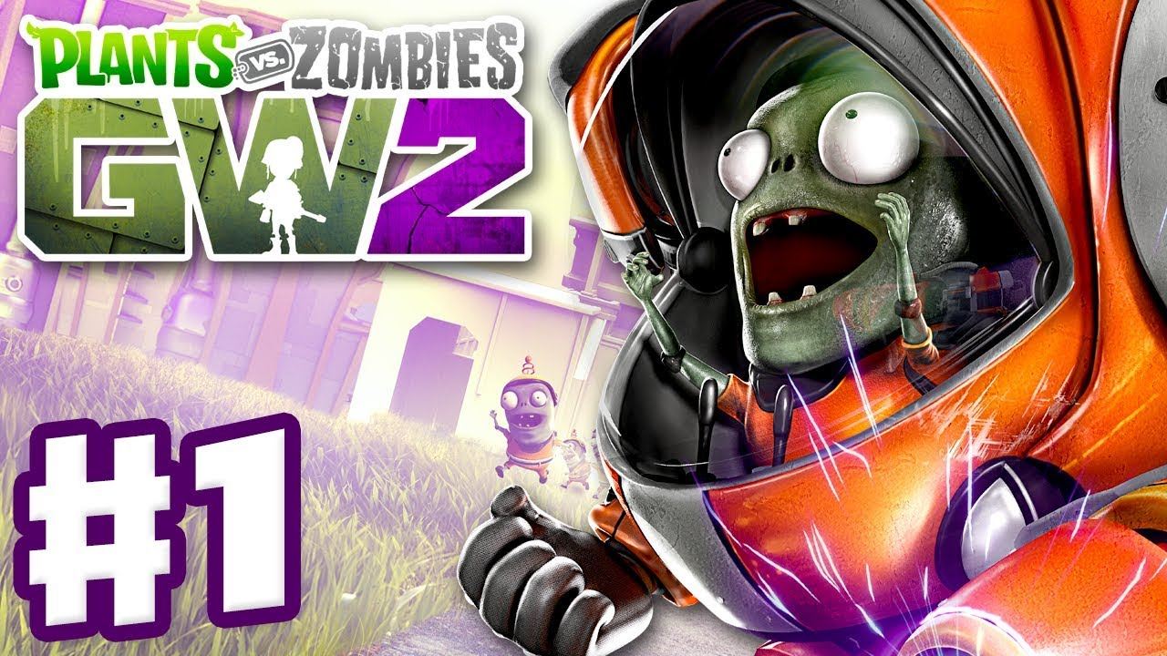 Plants vs zombies garden warfare 2 gameplay part 1 - Plants vs zombies garden warfare xbox one ...