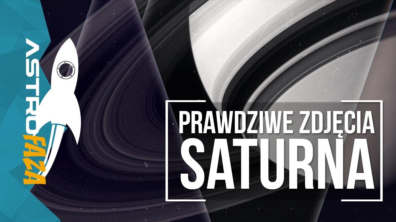 Prawdziwe zdjęcia Saturna z sondy Cassini – AstroFoty