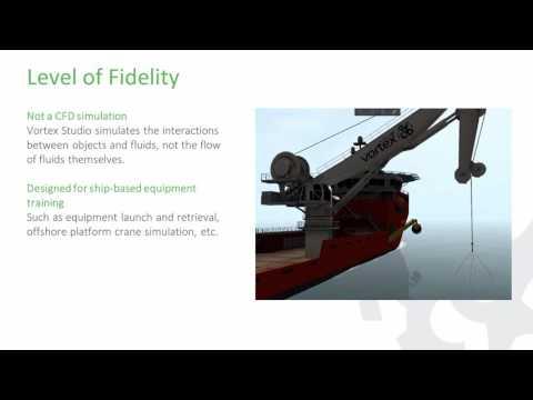 Maritime Simulation with Vortex Studio - Vortex University April 2017