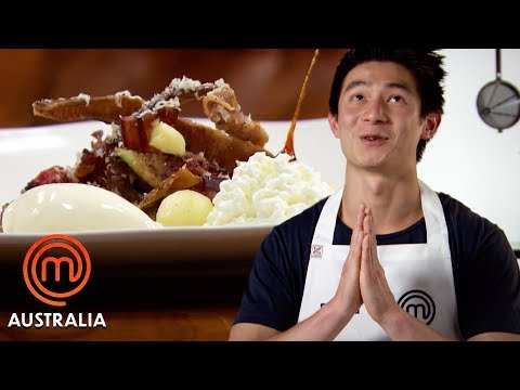 Reynold Poernomo's Blue Cheese Figs & Apples | MasterChef Australia | MasterChef World