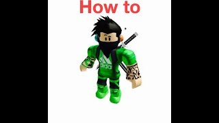 How to get a (custom) roblox xbox character