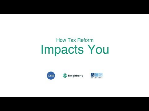 How Tax Reform Impacts You