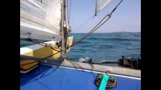 Catamaran Tornado Black Sea sailing