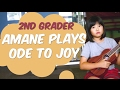 Ukulele Beginner Plays Ode To Joy With Teacher mp3