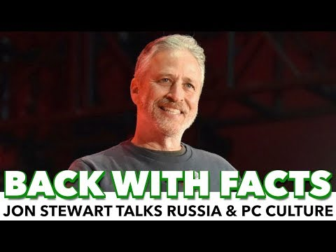 """Jon Stewart: """"We Don't Really Give A **** About Russia"""""""