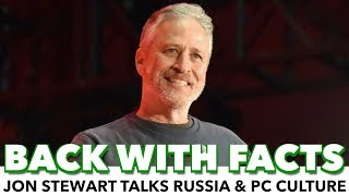 """jon stewart """"we dont really give a about russia"""""""