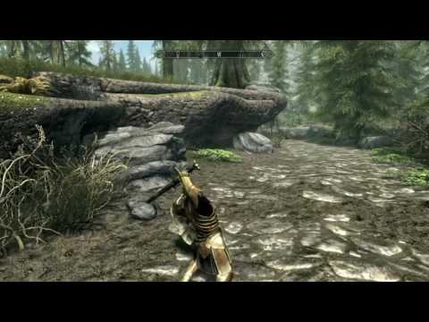 Golden And Silver Armory Set: Skyrim PS4 Mod Review!