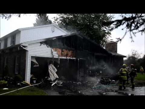 East Amherst FD Structure Fire - 36 Chapel Woods