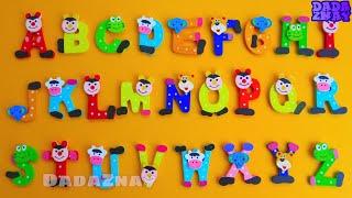 Учим английский язык| Учим буквы и цвета| Познавательное видео|Цвета букв