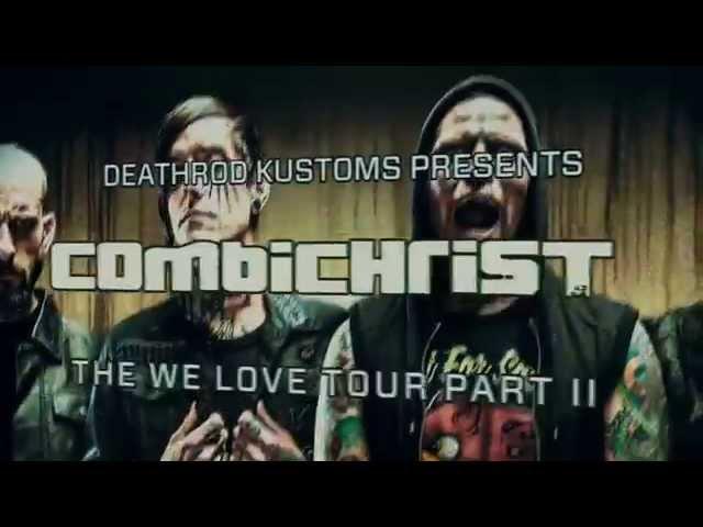 Combichrist We Love Tour Part II Video Promo
