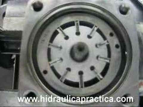 Hydraulics How A Vane Pump Works Youtube