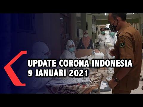 Update Corona 9 Januari 2021: Bertambah 10.046 Kasus Positif Baru!