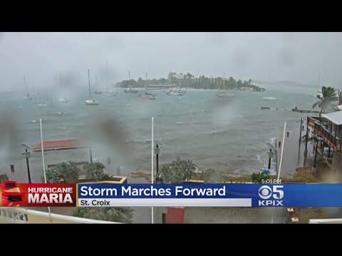 Hurricane Maria Slams Into Caribbean Islands