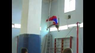 Андрей кольца. спортивная гимнастика. Кострома