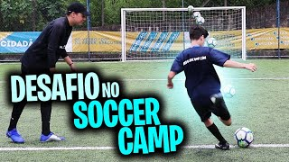 (CAIO LO VS VITOR LO)DESAFIO DO SOCCER CAMP ORLANDO
