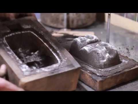 Форма для литья металла. Изготовление. Простой и дешевый способ.